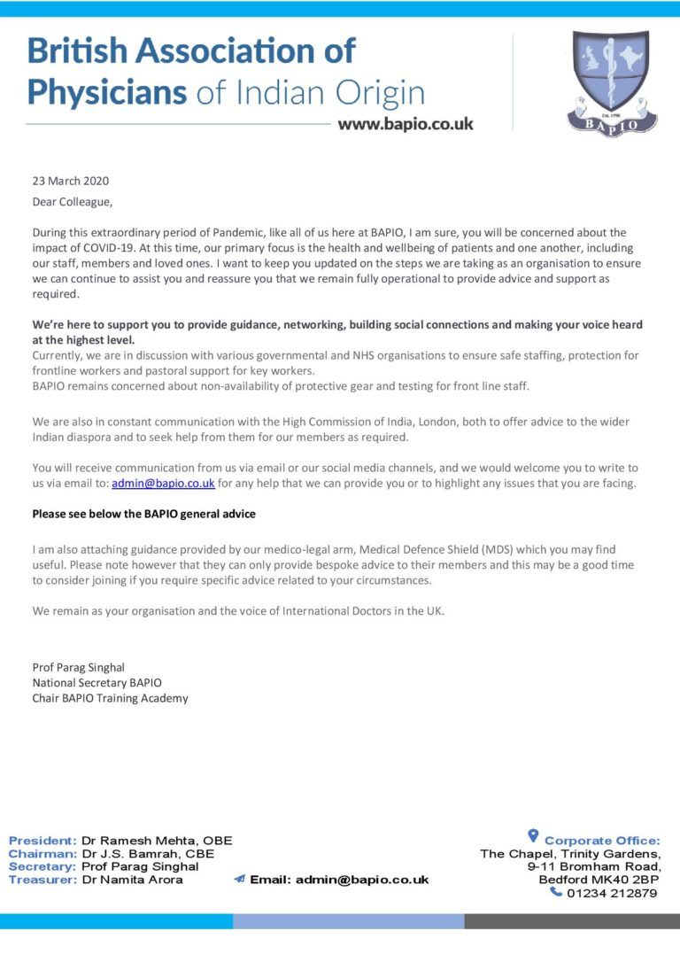 BAPIO Advice on COVID-19 updated 24.03-page-001