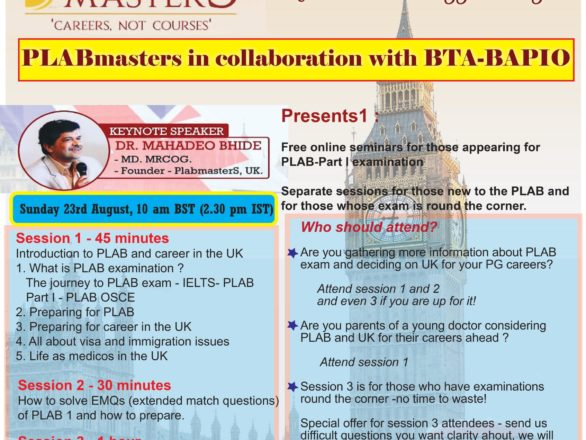 PLAB Masters Course